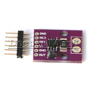High Accuracy Bidirectional Voltage Output Current Shunt Monitor INA282 Module