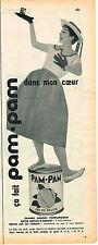 PUBLICITE ADVERTISING 104  1956  PAM-PAM   jus de fruit