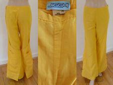 Jiggy HoseSchlaghose Nylon Cargotaschen Bänder Gelb 30 1A Zustand Cool