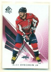 2017-18 SP Authentic Red Parallel #30 ALEX OVECHKIN Capitals