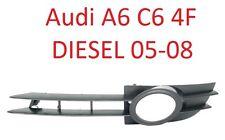 Audi a6 c6 4f 05-08 diesel parachoques parrilla rejilla ventilación diafragma izquierda
