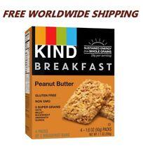 Kind Déjeuner Snack Barres Cacahuète Beurre sans Gluten 4 CT Monde Livraison
