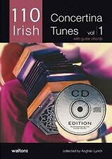 110 Best Irish Concertina Tunes, Volume 1: CD Edition 11AWAL-1381CD
