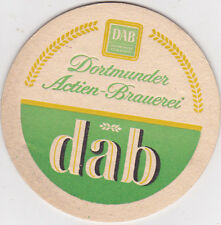 alter Bierdeckel   Dortmunder DAB  Mann ist DAB ein Bier