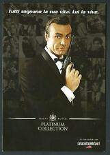 007 James Bond / Sean Connery - cartolina pubblicitaria