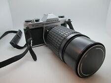 Asahi Pentax K1000 35mm SLR Film Camera pentax 70-200MM Lens