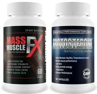 Mass Muscle FX & Protosterone Gym & Testosterone Supplement Bodybuilding Muscle