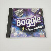 Boggle PC CD-rom Computer Game Hasbro Interactive Win95