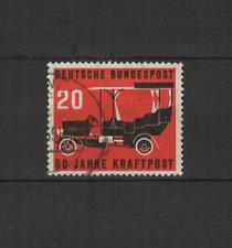 1955 Bundespost ALLEMAGNE poste automobile 1 timbre oblitéré /T3301