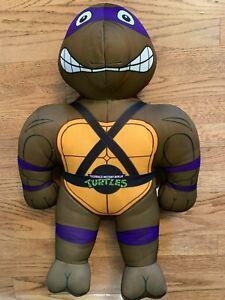 TMNT 1992 Teenage Mutant Ninja Turtles Donatello Practice Pal Plush Playmates