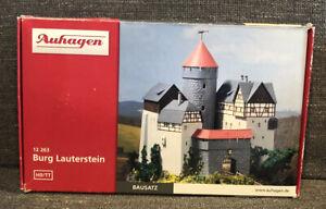 Auhagen Burg Lauterstein Castle Gauge HO TT 12 263 Scale Train New Sealed