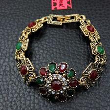 Flower Crystal Bangle Bracelet Betsey Johnson Fashion Jewelry Beauty