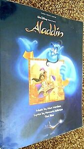 ALADDIN (ANIMATED FILM SONGBOOK SONG BOOK) 1992