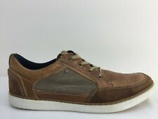 Aldo Brown Leather Lace Moccasin Lace Up Shoe Mens Size UK 12  Eur 46