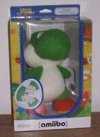 Mega Yarn Yoshi Amiibo New Boxed Plush Woolly World Limited Nintendo