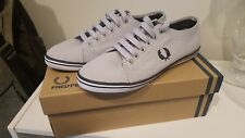 Women's Fred Perry Sneakers US 6 UK 4 Kingston Twill Grey/Dolphin