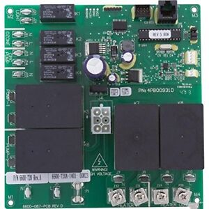 Jacuzzi® /Sundance® Circuit Board PCB Part no. 6600-720 (6600-087)