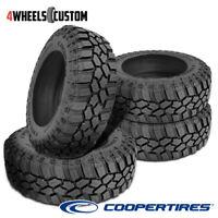 4 X New Cooper Evolution M/T LT295/70R17R10 121/118Q OWL Tires