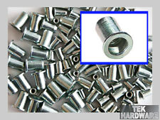 Flanged Threaded Inserts (Rivet Nuts, Rivnuts ) M4. M5. M6. M8. 100 Mixed Pack