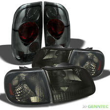 For 97-03 F150, 97-99 F250LD Smk Headlights + Corner + Altezza Style Tail Light
