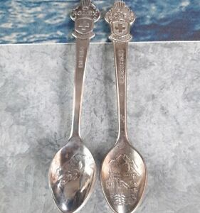 Vintage Rolex 2 Teaspoons Bucherer Of Switzerland LUCERNE and BERN
