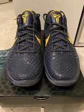 NEW UNUSED Nike Zoom Kobe VI Imperial Purple Del Sol, US men's size 10 New Shoe