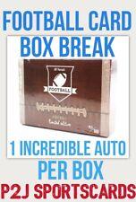 Hit Parade 2020 Limited FOOTBALL CARD Box BREAK🏈1 RANDOM TEAM🏈NFL🏈Break 3035