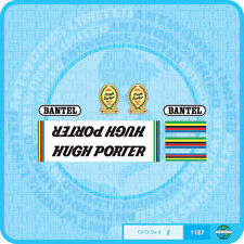 Hugh Porter Decals - Transfers - Stickers - Set 2