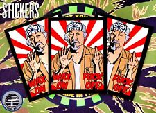 Mr.Miyagi Wax On F*K Off Limited Edition Karate Kid Sticker