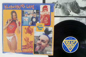 BLOODHOUND GANG USE YOUR FINGERS COLUMBIA C 67225 US SHRINK VINYL LP