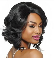 KERI - OUTRE SYNTHETIC SWISS LACE L PARTING LACE FRONT WIG SHORT WAVY
