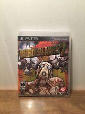 Borderlands 2 (Sony PlayStation 3, 2012) Complete