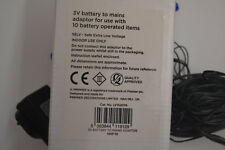 Premier 3v Battery-to-Mains Adaptor for 10 Battery Operated Items - LV152074