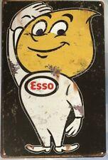 ESSO Rustic Look Vintage Tin Metal Sign Man Cave, Shed-Garage & Bar Sign
