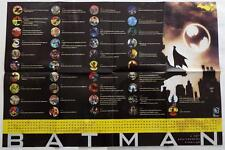 SDCC 2014 EXCLUSIVE  DC  75 YEARS OF BATMAN  Anniversary Timeline   Promo Poster