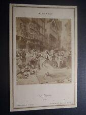 Carte album N°1002 A.Moreau les Tsiganes Goupil & Cie éditeurs Paris