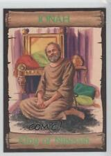 1989 re-Ed Bible Cards Jonah #7 King of Ninevah Non-Sports Card 0q3