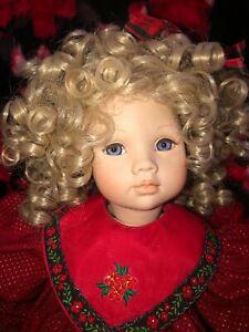 """~Pauline Bjonness Jacobsen~Felicity 19.5"""" Christmas Doll~125/950~VGUC~Bonus Noel"""