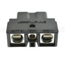 ALPINE PDX-M12 PDXM12 GENUINE QUICK CONNECT POWER PLUG *PAY TODAY SHIPS TODAY*