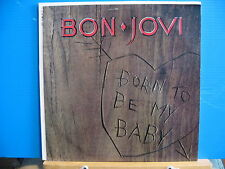 Bon Jovi - Born to be My Baby c/w Wanted Dead or Alive - Free UK Post