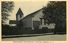 1907-1915 Postcard; Methodist Protestant Church, Baldwin L.I. NY Nassau County