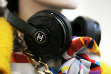 NWT CHANEL RUNWAY CC Logo Luxury Lambskin Wireless Headphones