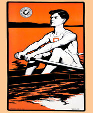 "11x14""Decoration Poster.Interior room design.Syracuse University Rowing.6663"