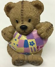 """COLLECTORS 2004 ROYAL DOULTON Teddy Doulton Bear Figurine 3.125"""" With Love/TD"""