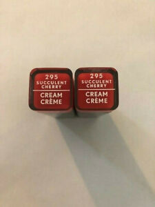 (2) Covergirl Exhibitionist Cream Lipstick, 295 Succulent Cherry