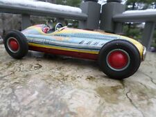 1950's Star Fire tin Indy Racer toy by Marusan