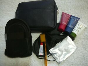 DELUX TRAVEL PACK:TOOTHBRUSH, PASTE, EYE MASK, EAR PLUGS, HAIR PRODUCTS,SLIPPERS