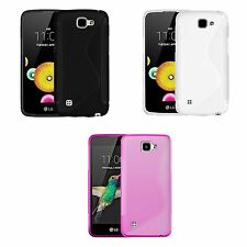Case For LG K4 S-Line Silicone Gel Skin Tough Shockproof Phone Cover