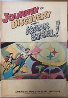 MARK STEEL  JOURNEY OF DISCOVERY (1967) promotional comic book Neal Adams art FN
