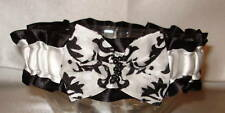Custom Made Damask Garter Your Size and  Custom Colors